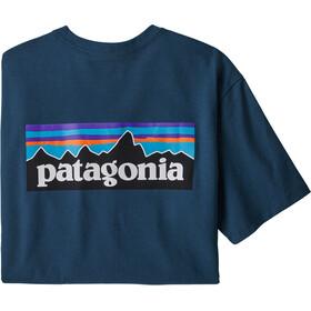 Patagonia P-6 Logo Responsibili-Tee maglietta Uomo, blu